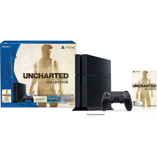 Refurbished Sony 3001169 PlayStation 4 500GB Uncharted: The Nathan Drake Collection Bundle