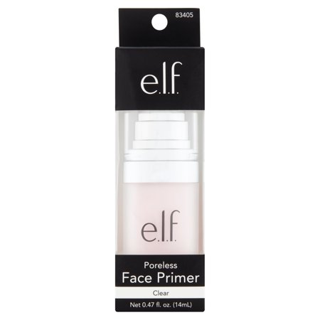 E L F  Clear Poreless Face Primer  0 47 Fl Oz