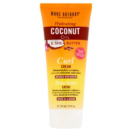 Marc Anthony 100% Extra Virgin Coconut Oil & Shea Butter Curl Cream, 5.9 Fl