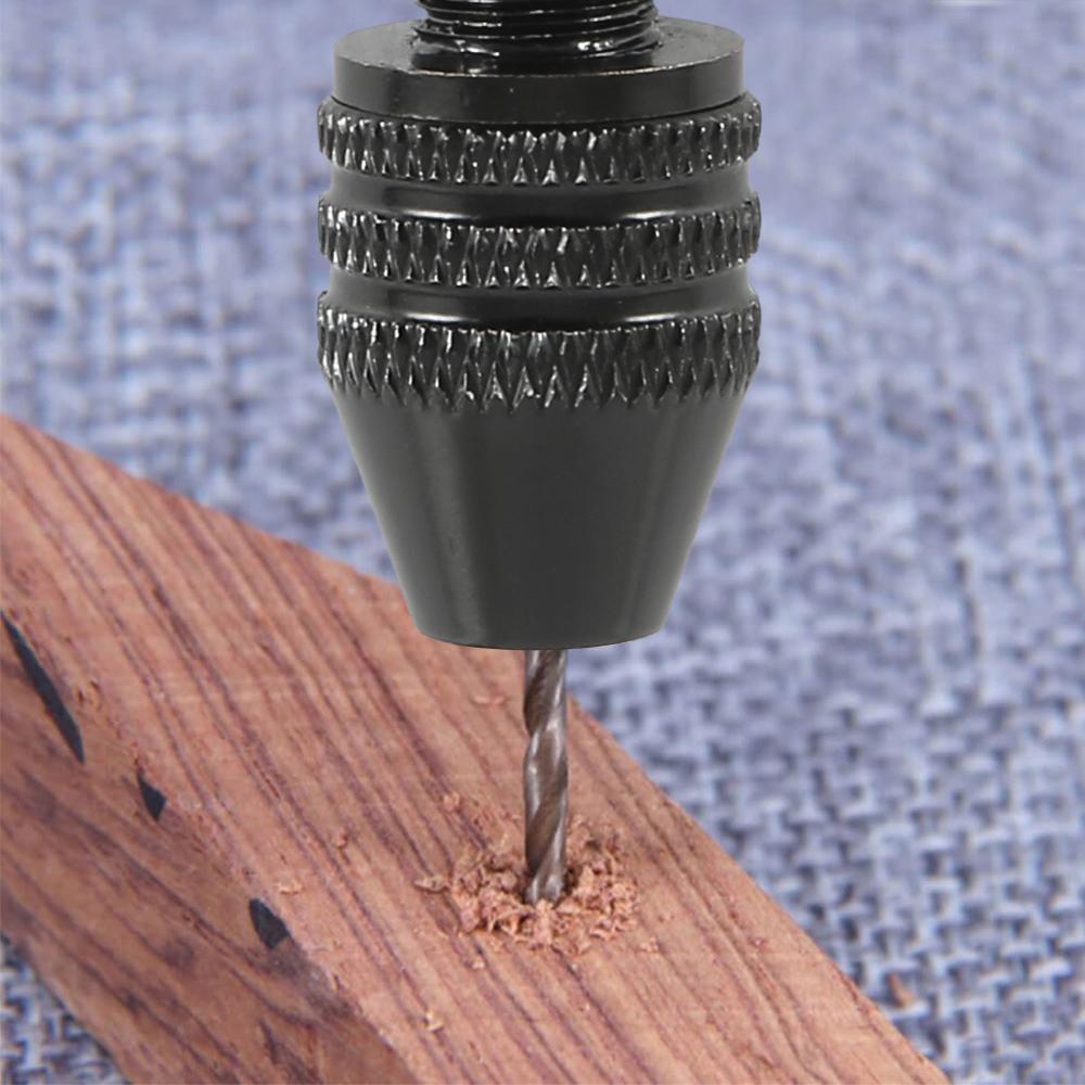 76Pcs Mini Micro Hand Drill Bits Set Small Manual Keyless Chuck Pin Vise Rotary