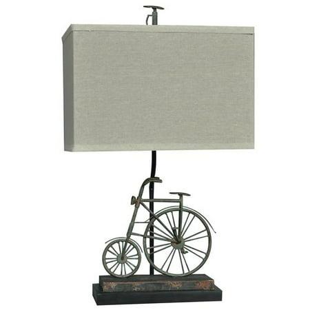 (Biking 26.5-Inch Table Lamp, Rustic Bike)