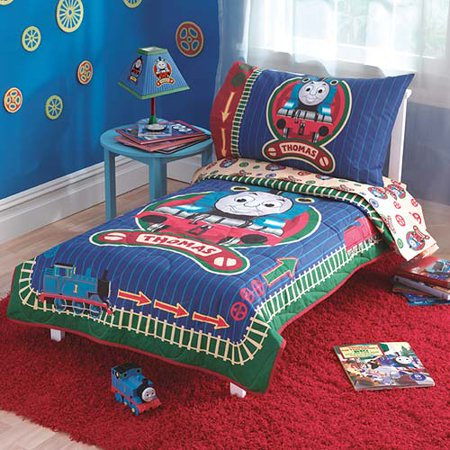Thomas The Train 4pc Toddler Bedding Set