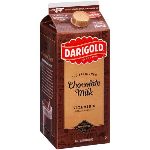 Darigold Old Fashioned Chocolate Milk, 0.5 gal