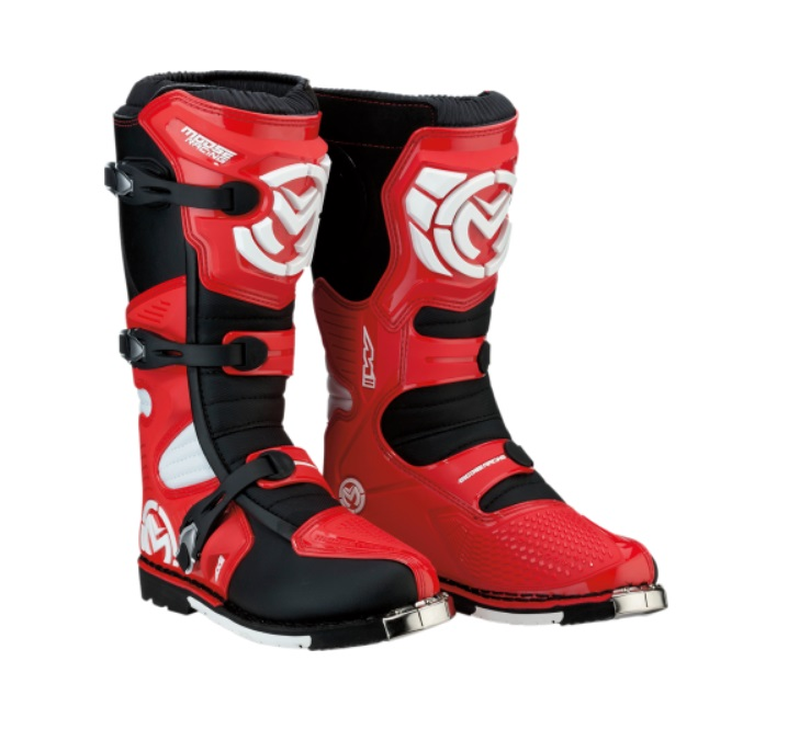 Moose Racing M1.3 MX Sole Offroad Mens Boots Red