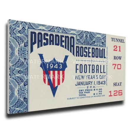 1943 Rose Bowl Mega Ticket - Georgia Bulldogs Georgia Bulldogs (Bowl Tickets)