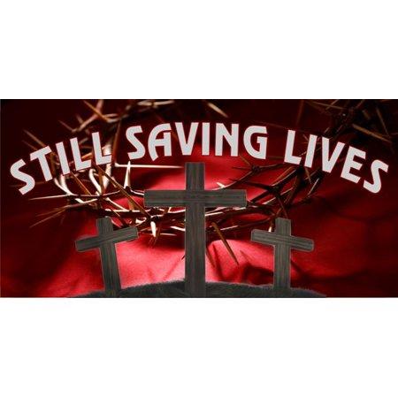 Still Saving Lives Photo License Plate