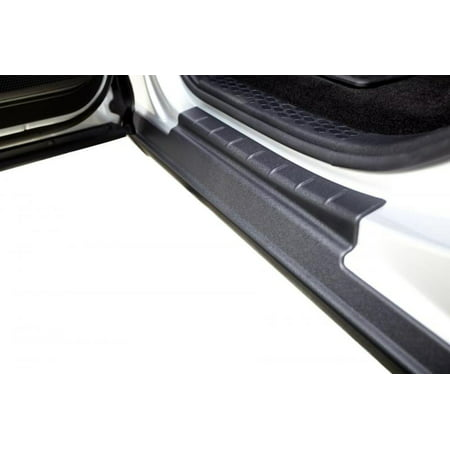 - Bushwacker 09-18 Dodge Ram 1500 Crew Cab Trail Armor Rocker Panel and Sill Plate Cover - Black