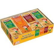 Keebler Club & Cheddar Cheese & PB & Toast & PB Sandwich Crackers Variety Pack 1.38 oz 8 ct