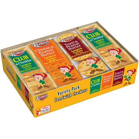 Keebler Variety Pack Sandwich Crackers 8-1.38 oz. Packages