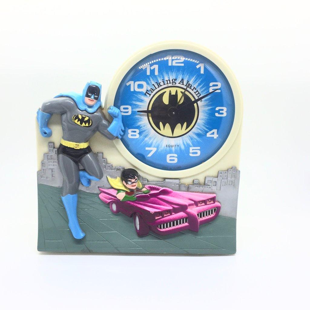 batman Alarm Clock,superhero,talking,model JLC,302