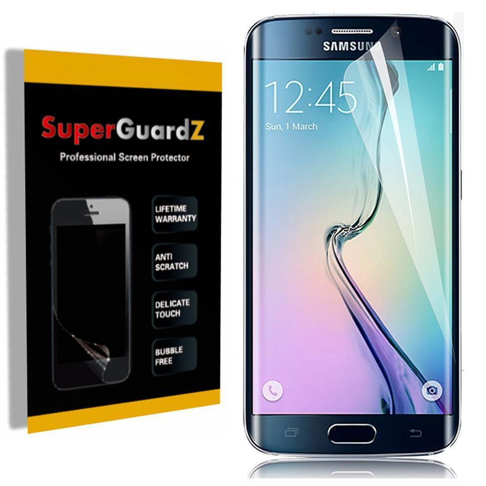 [2-Pack] For Samsung Galaxy S7 Edge - SuperGuardZ [FULL COVER] Screen Protector, HD Clear, Anti-Scratch, Anti-Bubble