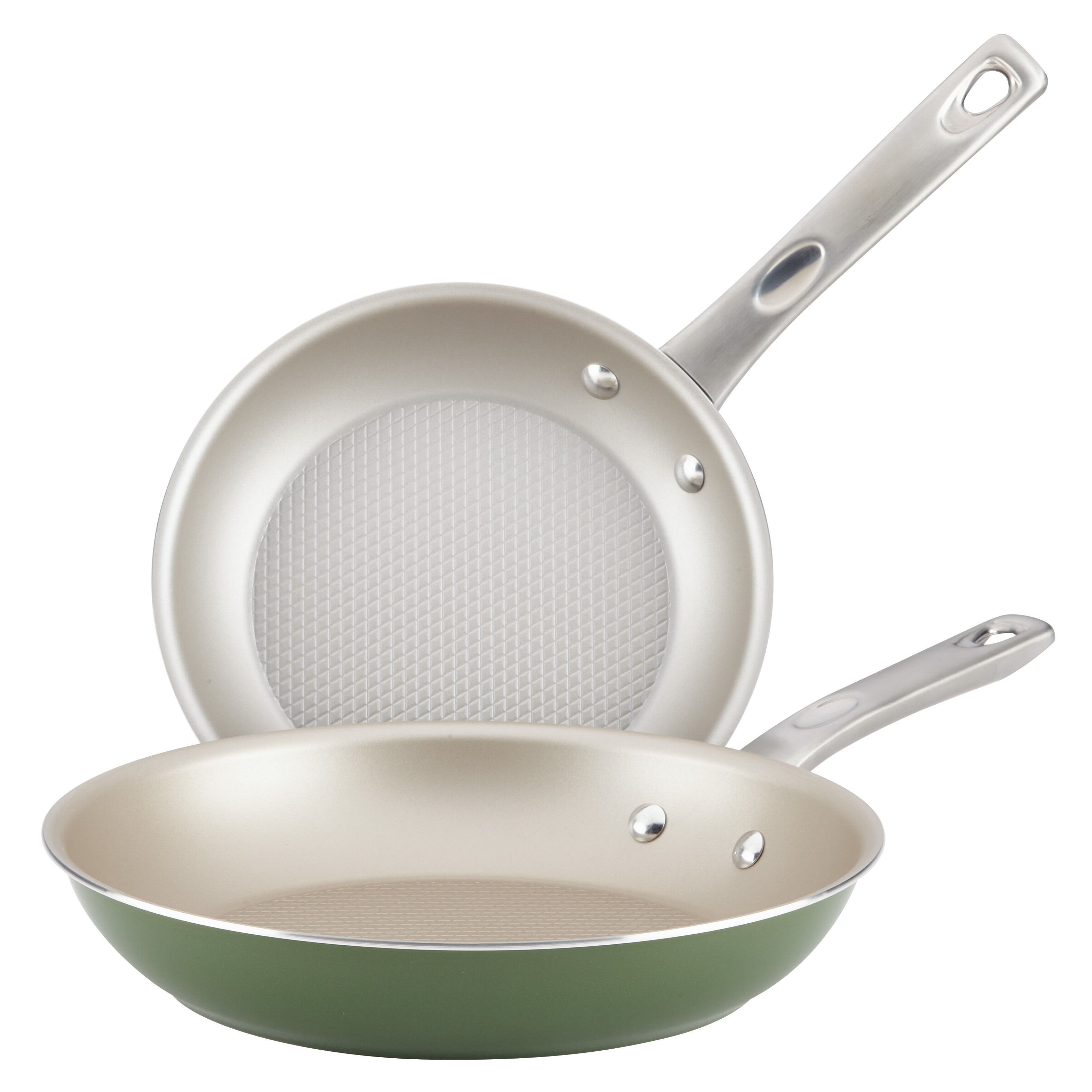 Ayesha Curry Home Collection Nonstick Skillet S/2