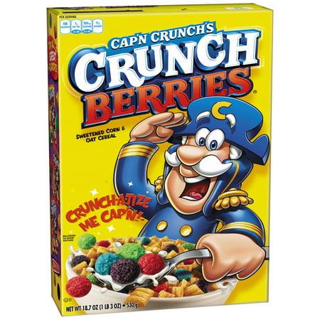 Capn Crunch Cereal  Crunch Berries  18 7 Oz