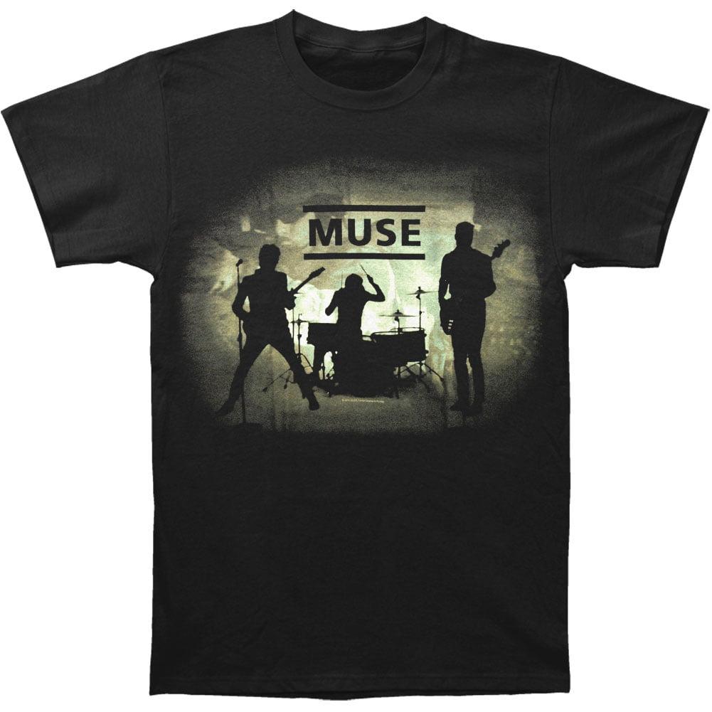 Silhouette Official Men/'s Black T-Shirt IMPORT Muse