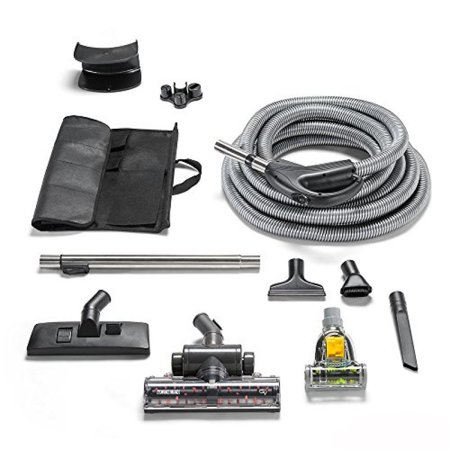 - GV Central Vacuum kit fits any system Loaded with tools Warranty & power turbo nozzle