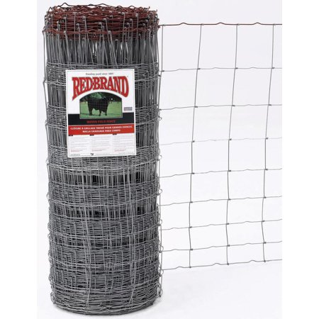 Keystone Wire 70046 Red Brand Field Fence, Galvanized Woven, 939-6 ...