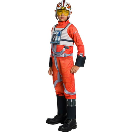 Star Wars Classic Boys X-Wing Fighter Pilot Costume](Bomber Pilot Costume)