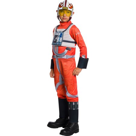 Star Wars Classic Boys X-Wing Fighter Pilot Costume - Woman Pilot Costume