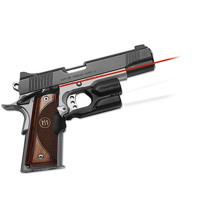 Crimson Trace 1911 Government Commander Walnut Lasergrip  Front Activation  Lg 908