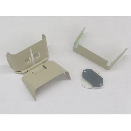 Downspout Extension Flip-Up Hinge for 2x3 A Style (2X3 A, WICKER) ()