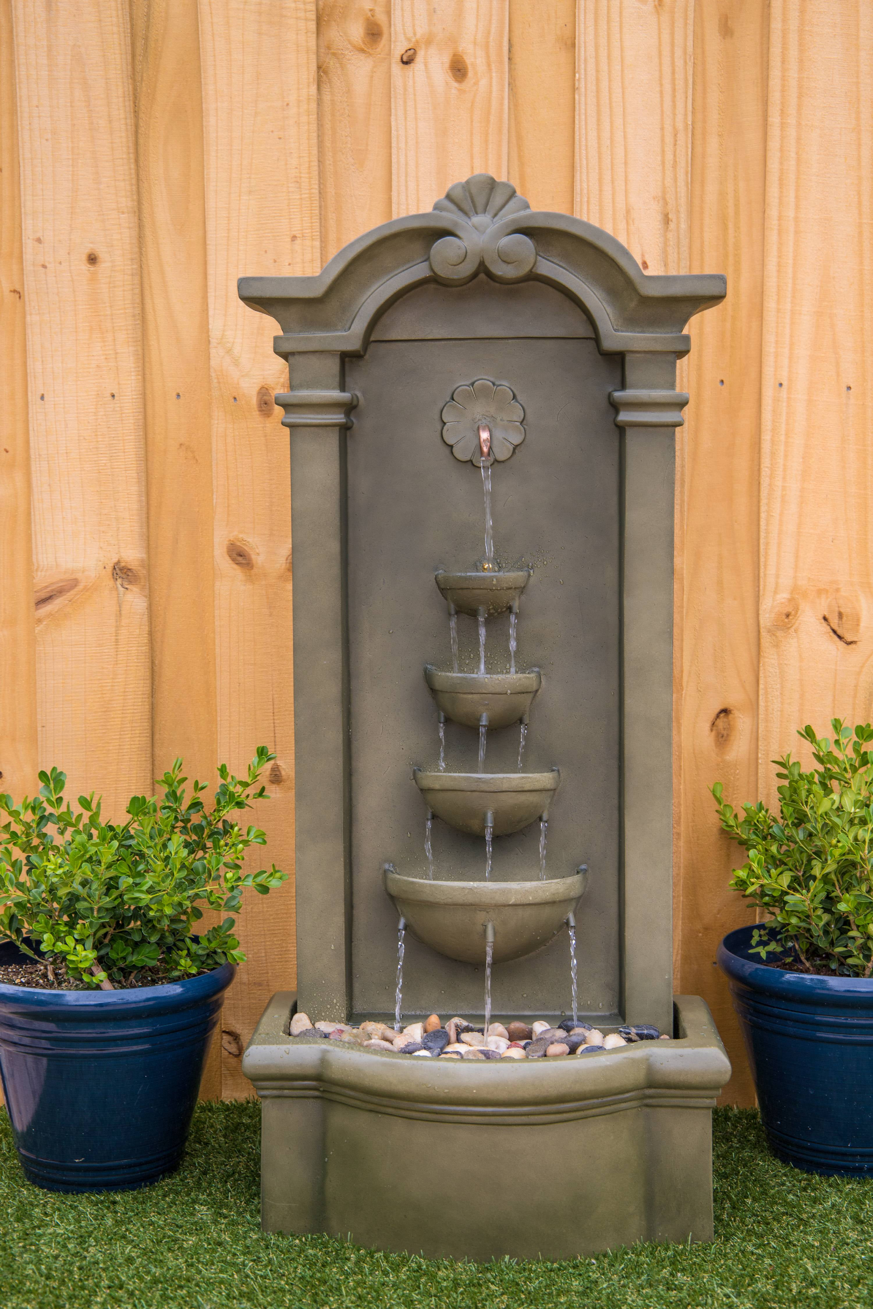 Click here to buy Cathedral Floor Fountain by Kenroy Home.