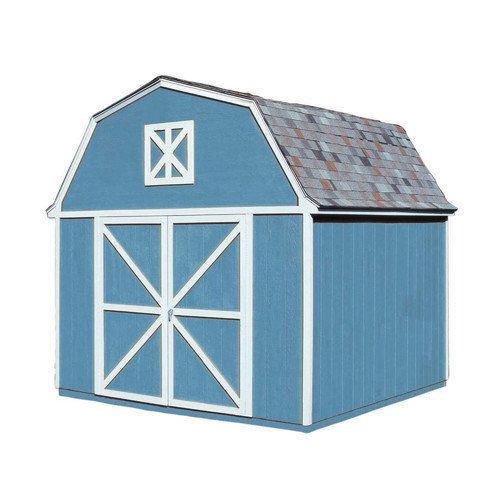 Handy Home Berkely 10 Ft. W x 10 Ft. D Wood Storage Shed