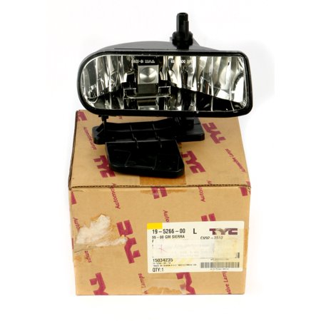 1999-2006 GMC Sierra Yukon Left Lamp Turn Signal Bumper Headlight 15034235 Gmc Sierra Yukon Headlight