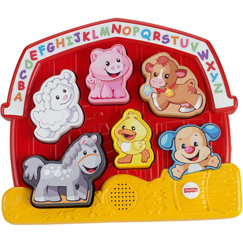 Fisher Price Laugh & Learn Farm Animal Puzzle by Fisher-Price