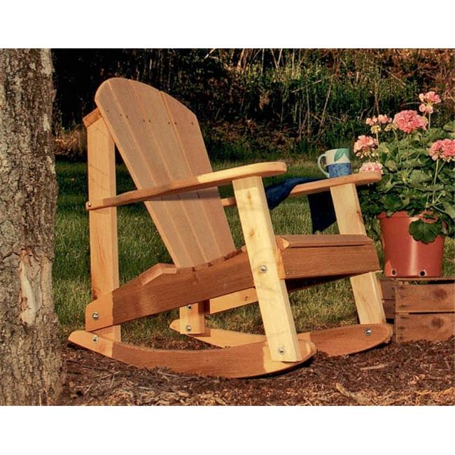 Creek Vine Designs WF5110CVD Cedar Adirondack Rocking Chair