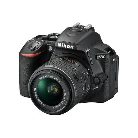 Nikon D5500 Digital SLR Camera with 24.2 Megapixels (Body