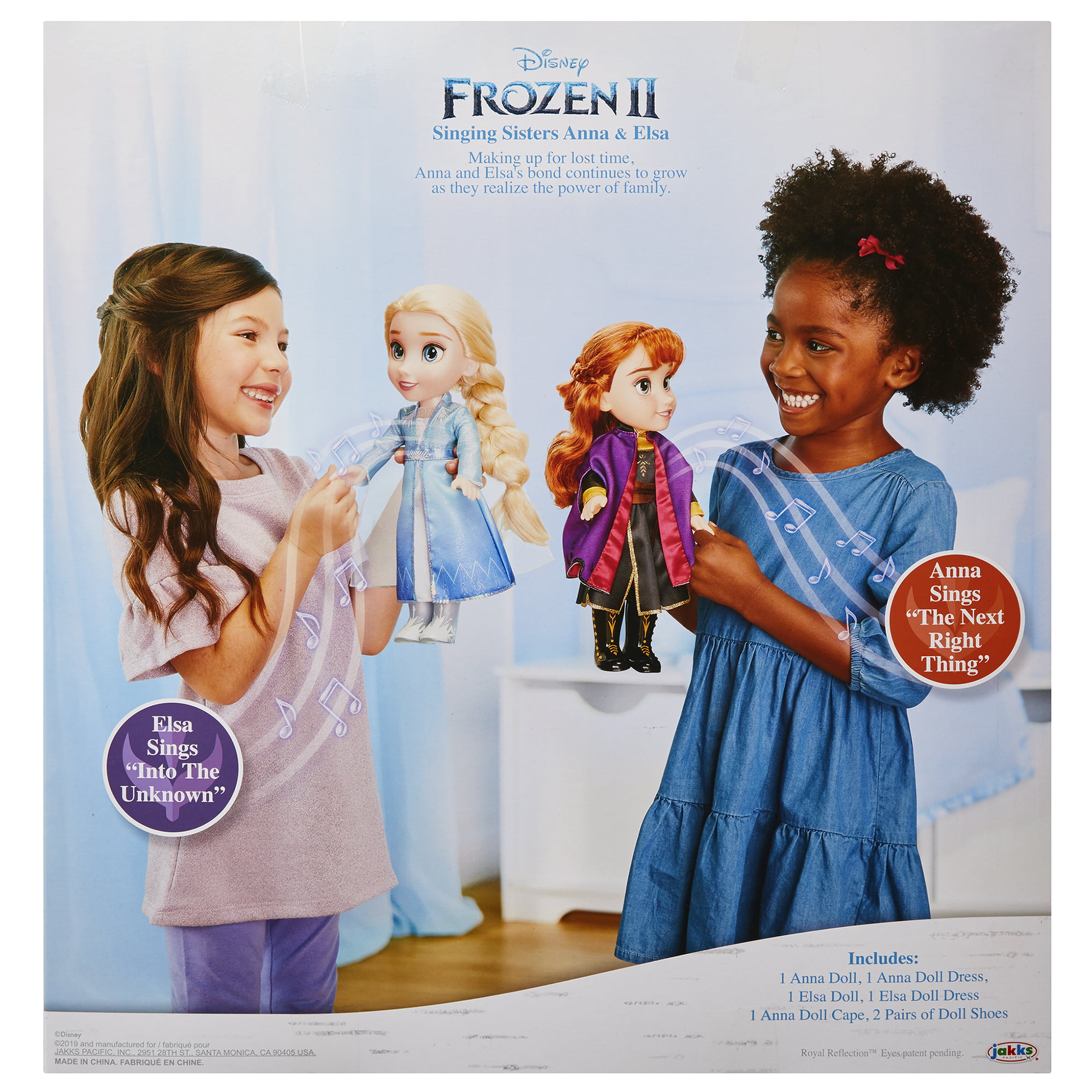 Disney Frozen 2 Singing Sisters Anna Elsa Interactive Walmart Exclusive Doll Set
