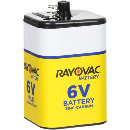 Rayovac® 6V Zinc-Carbon Battery