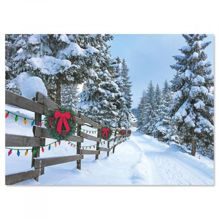 Forest Lane Christmas Cards - Set of 18