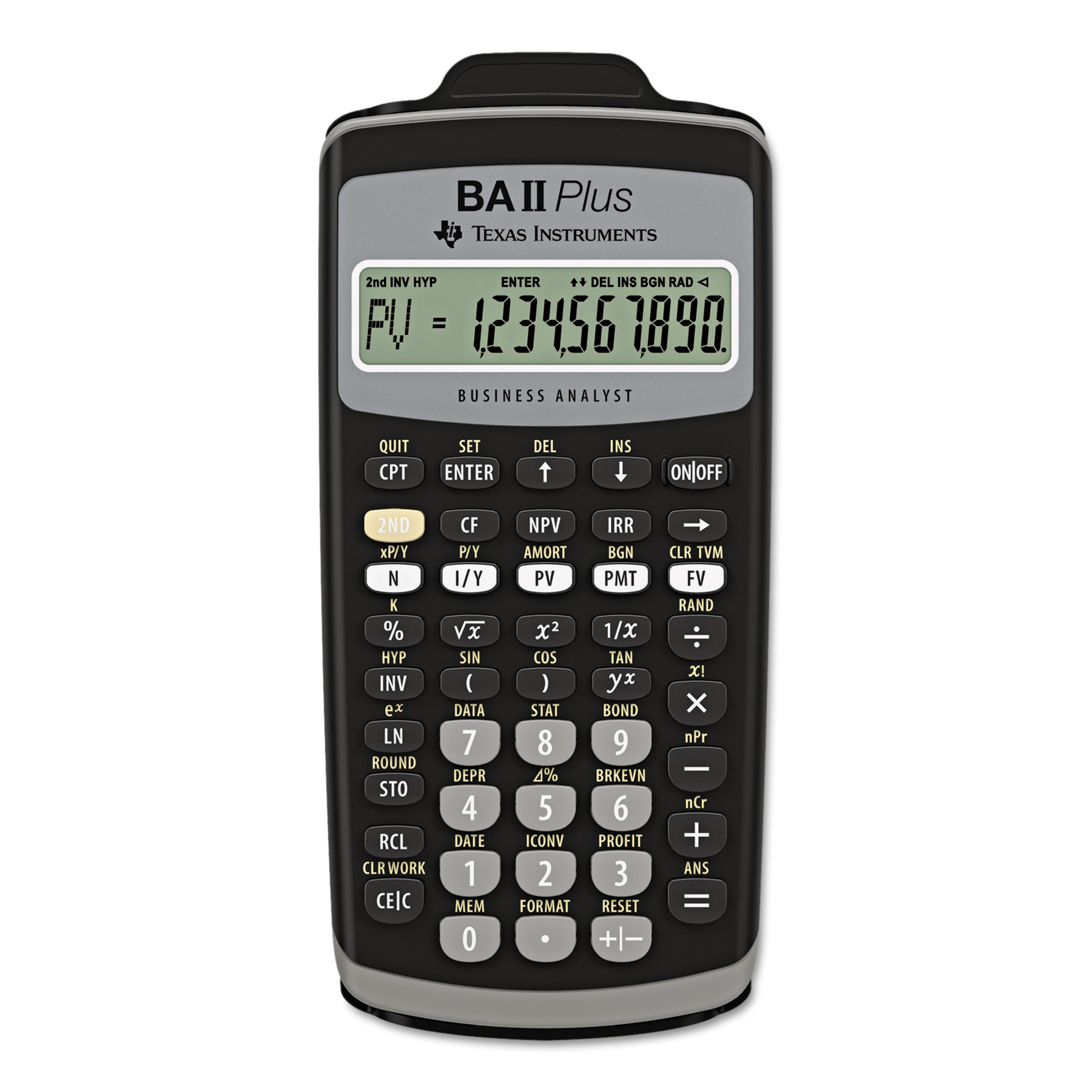 Texas Instruments BA II PLUS Calculator by Texas Instruments
