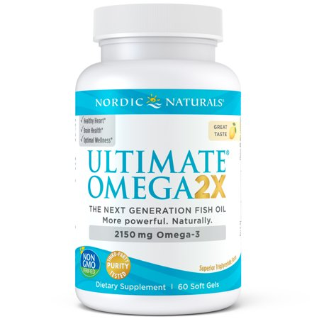 Nordic Naturals Ultimate Omega 2X Softgels, 2150 Mg, 60