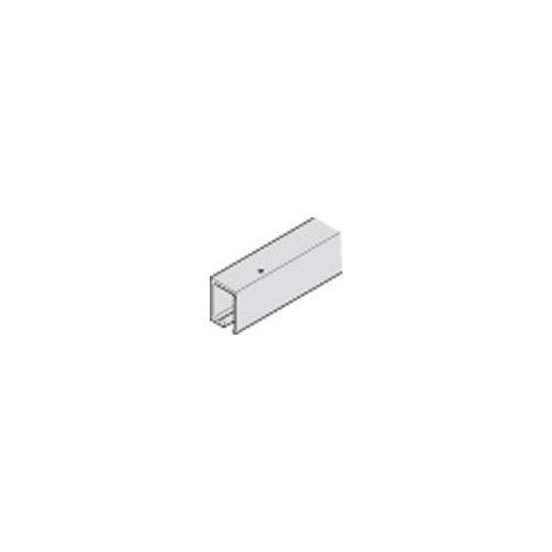 Hafele 942.22.600 HAWA Folding Wall 19-Foot 8-Inch Brass Upper Track for 66 Lb.