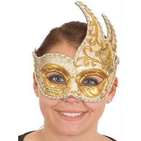 Antique Mardi Gras Mask 24273 (Grinch Mask Uk)