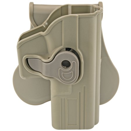 Fits Glock 19, 23, 32 (Gen 1,2,3,4); FDE Color