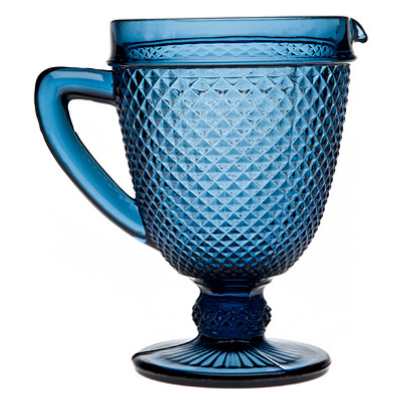 Godinger Belmont 30 oz. Blue Pitcher