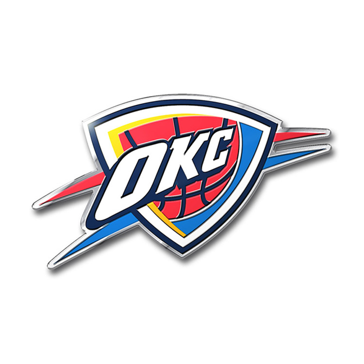 Oklahoma City Thunde Thunderâ  Color Bling Emblem