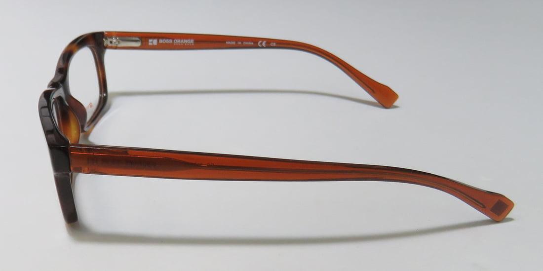 07979170759e New Hugo Boss Orange 0076 Womens/Ladies Designer Full-Rim Tortoise / Brown Sophisticated  Upscale Frame Demo Lenses 52-14-135 Spring Hinges Eyeglasses/Eye ...
