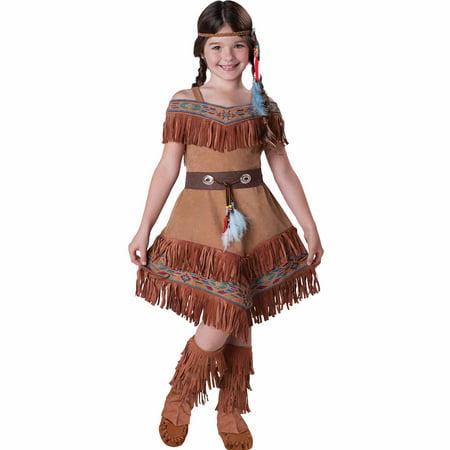 native american maiden child halloween costume - Halloween Native American
