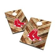 Boston Red Sox 2' x 3' Logo Cornhole Board Set