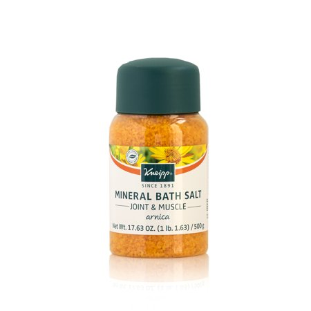 Kneipp Arnica Mineral Bath Salts, Joint & Muscle 17.63 Oz.