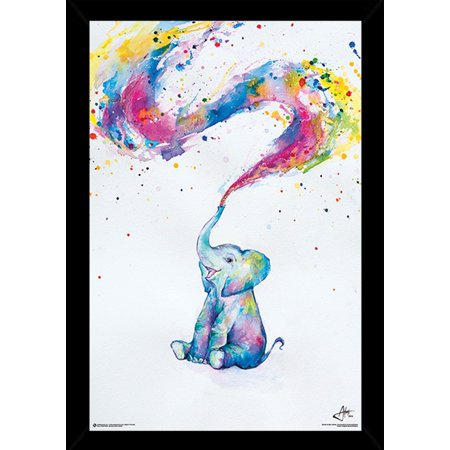Spring By Marc Allante Poster in a Black Poster Frame (24x36 ...