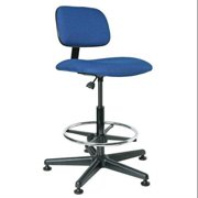 "BEVCO Task Chair 22-1/2"" to 32-1/2""H, Blue, 4500 BLUE"