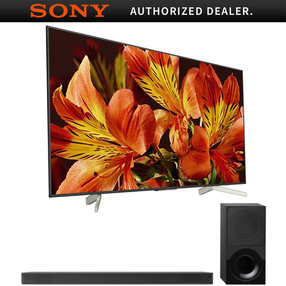"Sony 65"" Class 4K Ultra HD (2160P) HDR Android Smart LED TV (XBR65X850F) with Sony HTX9000F 2.1Ch 4K HDR Compatible Dolby Atmos Soundbar"
