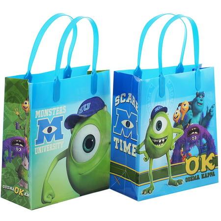 Monster University 12 Party Favor Reusable Goodie Medium Gift Bags 8