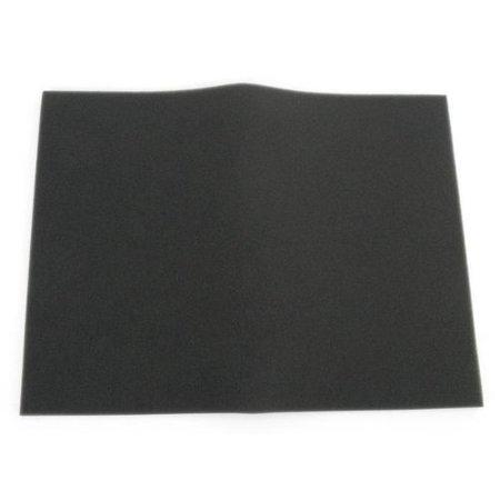 (Uni Bulk Fine Foam Filter (60 PPI) - 12in. x 16in.x 3/8in. - Black BF-4, 30ppi Black BULK 12in Aquarium Book 12x24x38Black Pack Story Tranquil Women.., By Uni Filter)