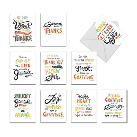 m9633ocb words of appreciation 10 assorted all occasions note cards with envelopes by the best